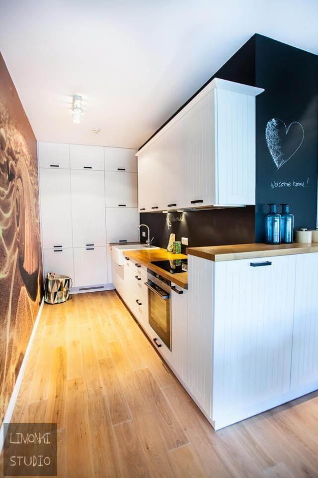 Projektowanie wnętrz Szczecin - projekt i aranżacja kuchni Limonki Studio
