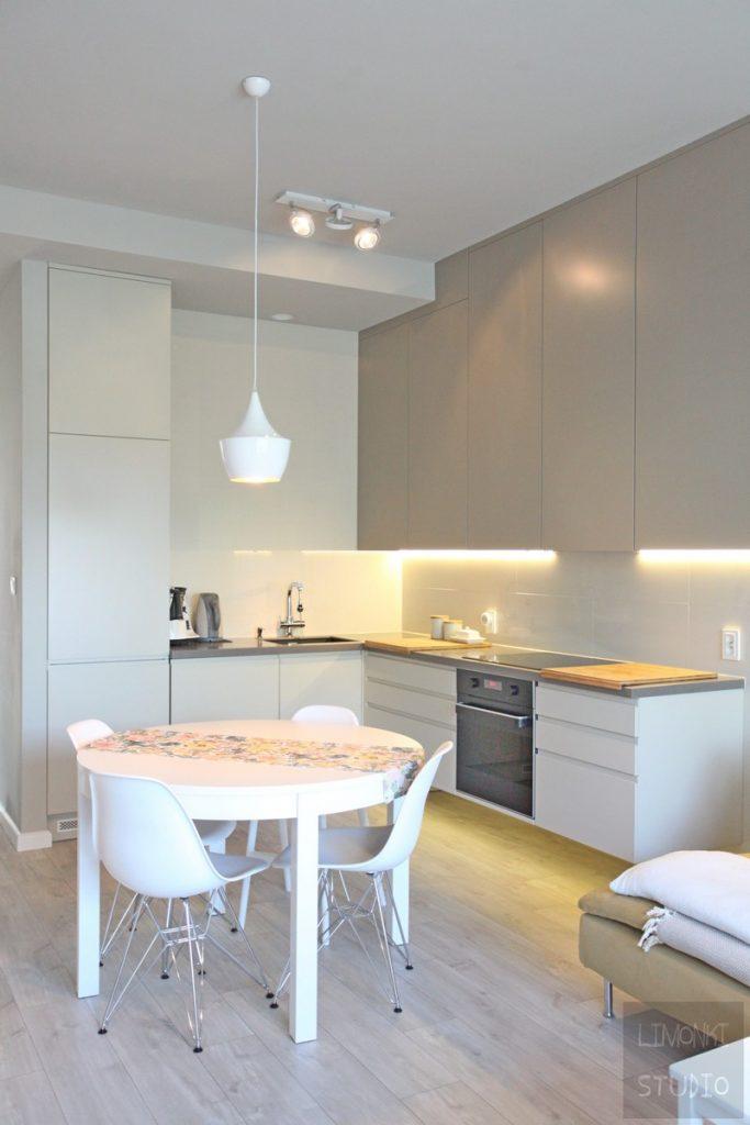 Projektowanie Wnętrz Szczecin - Projekt kuchni Szczecin - Limonki Studio